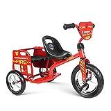 besrey Tricycle Vélo pour 2 Enfant,Jouets pour Garçons et Filles de 2-7 Ans (50kg)