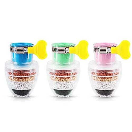 3PCS Magnetietfilters Gemagnetiseerd Spatwaterdicht Huishoudelijke keukenkraan Desand Purifier Eenvoudig te installeren