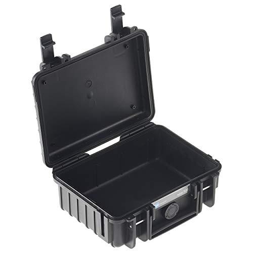 B&W Transportkoffer Outdoor Typ 500 schwarz - wasserdicht nach IP67 Zertifizierung, staubdicht, bruchsicher und unverwüstlich