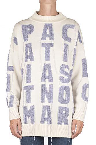 LIVIANA CONTI - Sweater - 360623 - Panna/Viola - Panna/Viola, S