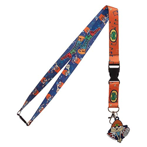 Parappa The Rapper Breakaway Lanyard With ID Badge Holder