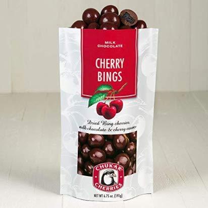 Milk Chocolate Cherry Bings  1 Bag