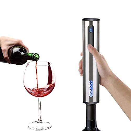 WWJJLL Bouteille Automatique Rouge décapsuleur, électrique Rouge ouvreur de vin, Bouteille Automatique Ouvre-Bouteille de vin Rouge ouvre-boîte, Bouteille de vin USB Rechargeable Machine de découpage