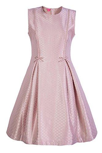 La-V Festliches Kleid Mattrosa/Größe 170