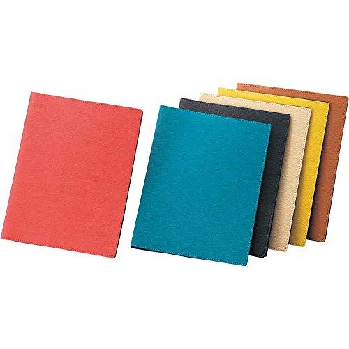 合皮 メニュー(金属 A4 30穴 4ページ)【LB-806】薄茶[えいむ 合皮 メニューブック バインダータイプ]※エメラルドグリーンは写真よりかなりグリーン寄りの色です