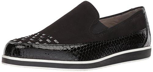 ARA Women's Laurel Loafer Flat, Black Snake Combo, 8.5 M UK (11 US)
