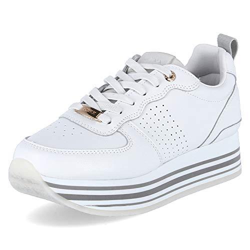 Mexx Damen Sneaker Low Eila weiß 41