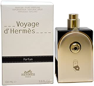 Hermes Voyage D'Hermes Pure Perfume Refillable Spray for Unisex, 3.3 Ounce