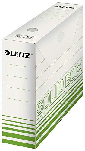 Esselte Leitz Archivbox Solid, 80mm, Wellpappe, hellgrün