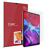 iCarez Anti-Glare Matte Screen Protector for Apple 11-inch iPad Pro 11 2020/2018 [2-Pack] Premium PET Film (Not Glass) Easy to Install (Compatible with Face ID and Apple Pencil)