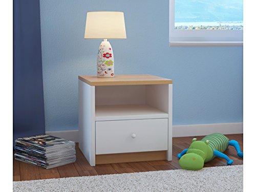 Children's Beds Home Kinder Nachttisch Babydreams für Kinder, Kinder, Junior (Buche, 40x40x30)