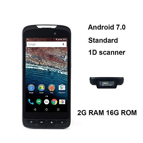 Wenhu Handheld Inventaire des données du Terminal NFC Collector Lecteur RFID sans Fil et Filaire Barcode Scanner de Code à Barres 1D Scanning Engine,2DandCradle