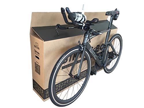 (1x) Caja de Cartón para Bicicletas. Tamaño 1440 x 255 x