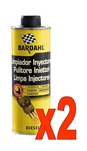 Bardahl Diesel Injector Cleaner Additivi Pulitore Iniettori Diesel 500 ML N. 2 FLACONI