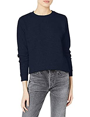 Gildan Women's Crewneck Sweatshirt, Navy, 2X-Large by Gildan