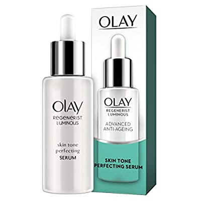 Olay Regenerist Luminous Anti-Ageing Skin Tone Perfecting Serum with Niacinamide, 40 ml, for a Youthful Luminosity and Even Skin Tone