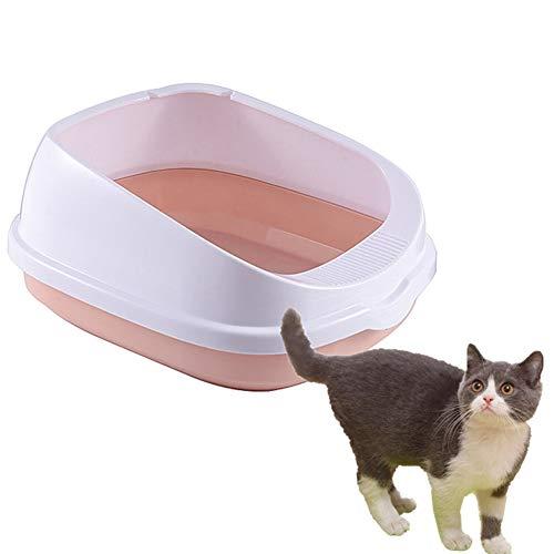 BOENTA Arenero Grande para Gatos Arenero Gatos Cubierto Gatos Accesorios Arenero Arenero Gatos PequeñO Areneros para Gatos Cubiertos Arenero Cubierto Gatos Pink