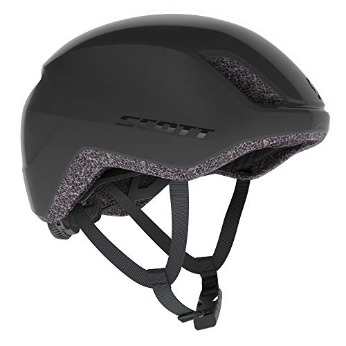 Scott Ristretto City 2021 - Casco para bicicleta, talla L (59-60 cm), color negro