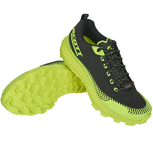 Scott W Supertrac Ultra RC Shoe Gelb, Laufschuh, Größe EU 38.5 - Farbe Black - Yellow