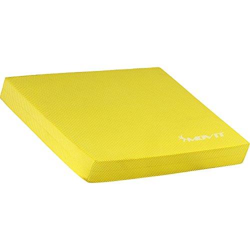 Movit Balance Pad »Dynamic Base«, 48x38x5,8cm, gelb, Training für Gleichgewicht und Koordination