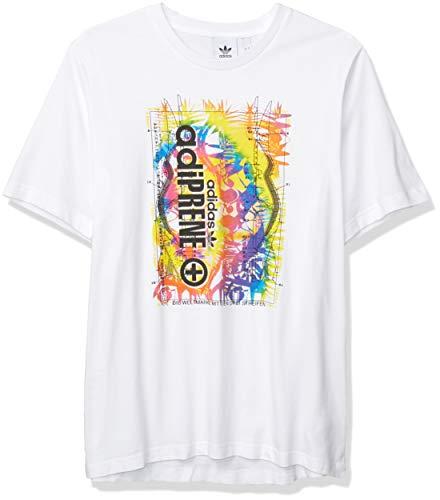 Adidas Originals - Maglietta da uomo Adiprene - bianco - S