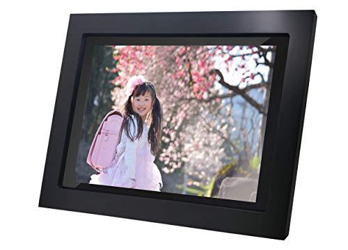 キュイ WiFi デジタルフォトフレーム 10インチ スマホの写真を簡単シェア 安心の日本人サポート Frameo