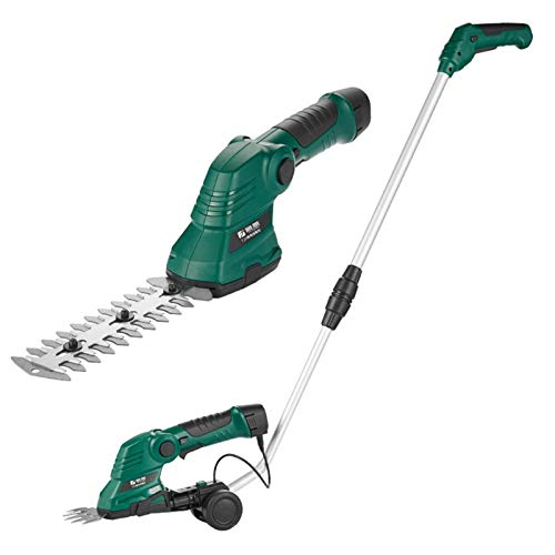 REWD Cortasetos Electrico Hedge Tijeras de Mano del Condensador de Ajuste sin Cuerda Hedge Shears 3,6 voltios de Litio Ion Hedge Cut Grupo Combo Hedge Trimmers Home and Garden