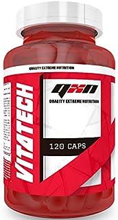 QXN Vitatech complejo multivitamínico – Multivitaminas con 11 vitaminas y 4 minerales para reforzar nuestras
