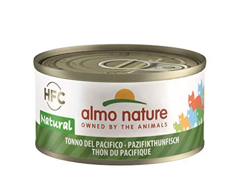Almo Nature HFC Natural Katzenfutter - Pazifikthunfisch 24x70 g