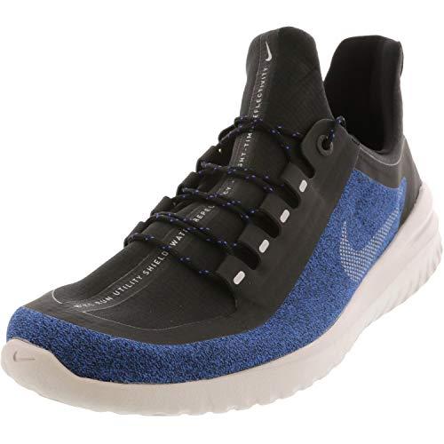 Nike Men's Sneaker Running Shoes, Multicolour Black Metallic Silver Hyper Royal 002, 10