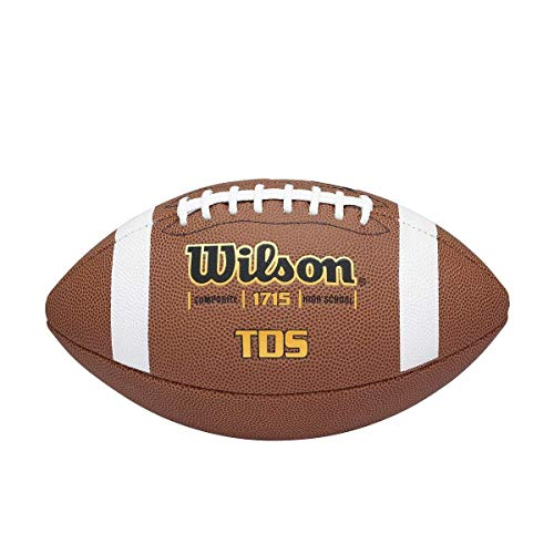 NFL Wilson TDS Composite Official Football (9, Brown)