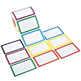 Cizen Etichette Adesive, 500Pz Etichette Multifunzione Rettangolar, Etichette Adesive Colo...