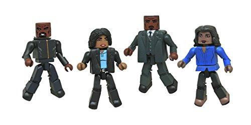Series 2 Minimates Box Set Diamond Comic Distributors OCT152196 Diamond Select Toys Gotham