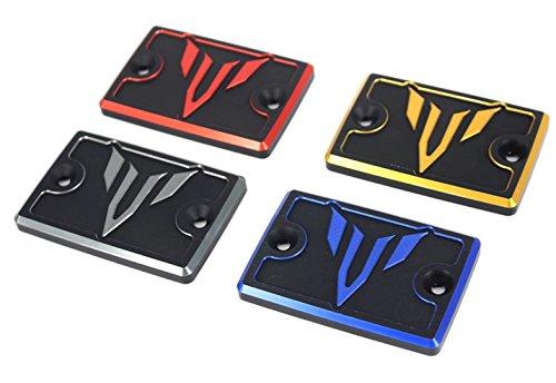 Motorrad Bremsflüssigkeitsdeckel Vorne Alu Deckel für Bremsflüssigkeitsbehälter Für Yamaha MT03 MT07 FZ07 FZ09 MT09 FJ09