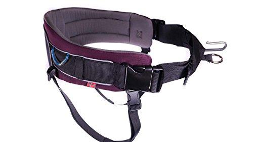 Trekking Belt von Nonstop, Laufgurt,Jogginggurt, Wandergurt für Hunde (S, Purple)