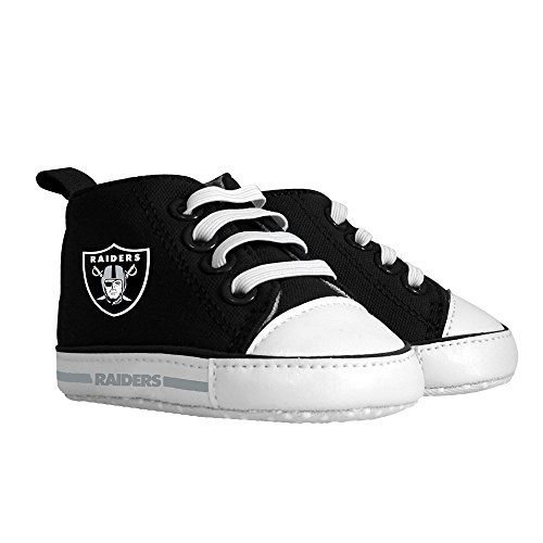 Baby Fanatic Pre-Walker Hightop, Oakland Raiders, Small