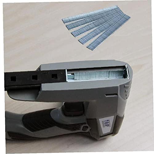 TOSSPER Grapadora 1000pcs Soporte 18 Gauge Brad Nails 14mm para Grapadora Eléctrica Clavadora Grapadora Mesg45a