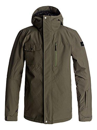 QUIKSILVER Herren Snowboard Jacke Mission Solid Jacket