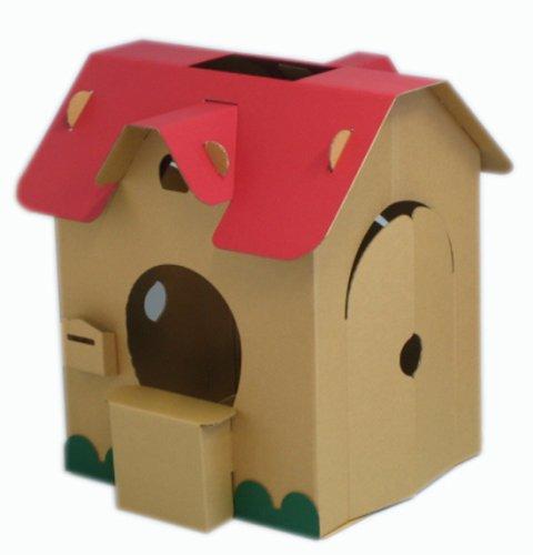 森井紙器 こども専用秘密基地 段ボール工作シリーズ すまいるキッズハウス
