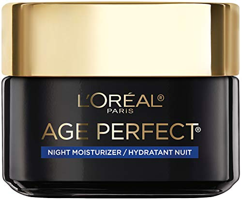 L'Oreal Paris Skincare Age Perfect Cell Renewal Skin Renewing Night Cream, Face Moisturizer with Salicylic Acid to Stimulate Surface Cell Turnover, Radiant & Vibrant Skin, 1.7 oz, Packaging May Vary