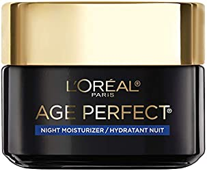 L'Oreal Paris Skincare Age Perfect Cell Renewal Skin Renewing Night Cream, Face Moisturizer with Sal