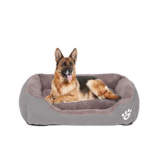 FRISTONE Waschbar Hundebett für kleine und große Hunde Hundekorb Weich L XL XXL