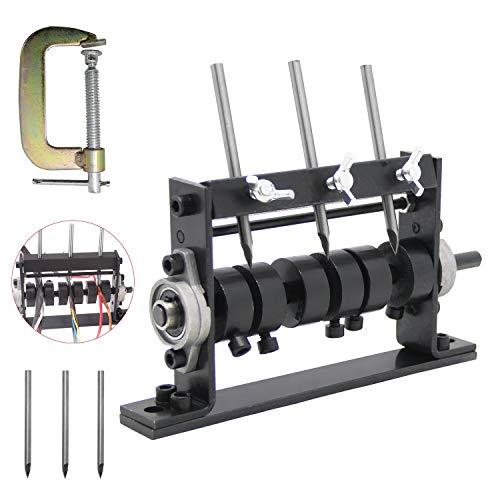Mxmoonant Máquina peladora de cables con 3 cuchillos para Φ 1-30 mm,...