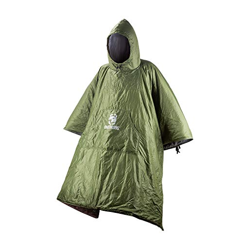 OneTigris ROC Poncho Sleeping Bag, Multiuse, Weighs 35.6oz