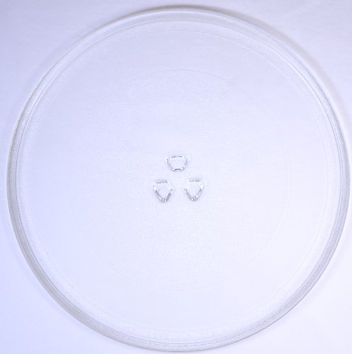 Mikrowellenteller / Drehteller / Glasteller für Mikrowelle # ersetzt Juno-Electrolux Mikrowellenteller # Durchmesser Ø 32,4 cm / 324 mm # Ersatzteller # Ersatzteil für die Mikrowelle # Ersatz-Drehteller # OHNE Drehring # OHNE Drehkreuz # OHNE Mitnehmer
