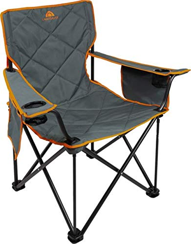 ALPS Mountaineering Campsaver King Kong Chair, Dark Gray/Bright Orange, One Size, 8141534