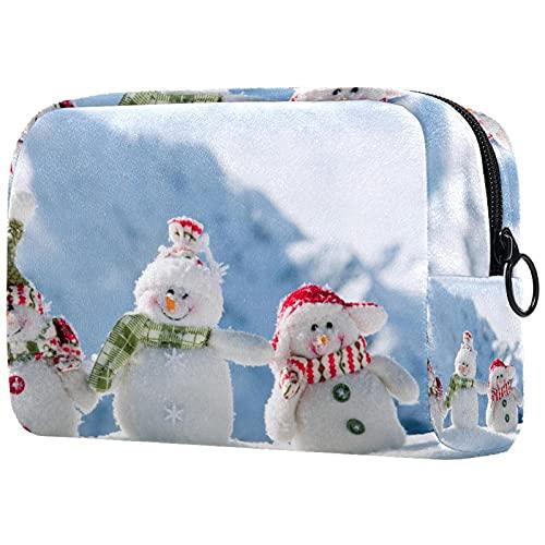 Neceser de viaje de nylon, Dopp Kit de afeitar bolsa de aseo organizador de Navidad corona sobre madera gris 18.5x7.5x13cm,...