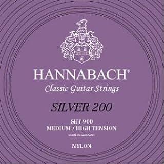 CUERDAS GUITARRA CLASICA - Hannabach (900/MHT) Silver 200 (Juego Completo)