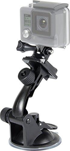 Speedlink Car-Mount für GoPro - Zubehör für Action-Cams - Saugnapf-Autohalterung - zwei Gelenke - extrem fester Halt - schwarz