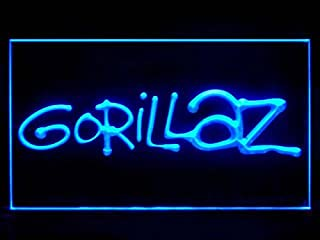 Lamazo Gorillaz Bar Pub Led Light Sign